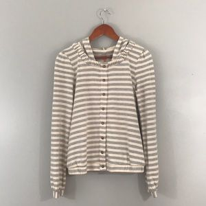 NWT Anthropologie Saturday Sunday Linear Edit top